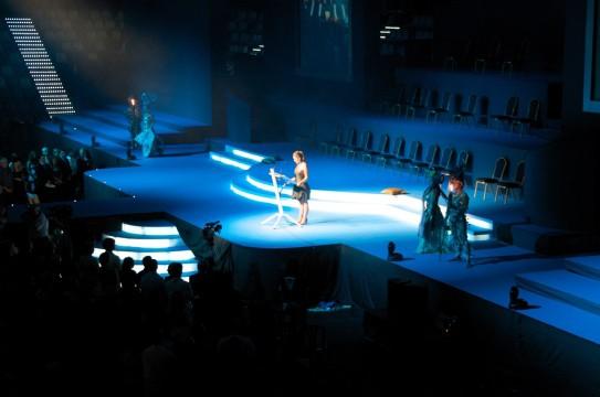 escenario para festivales
