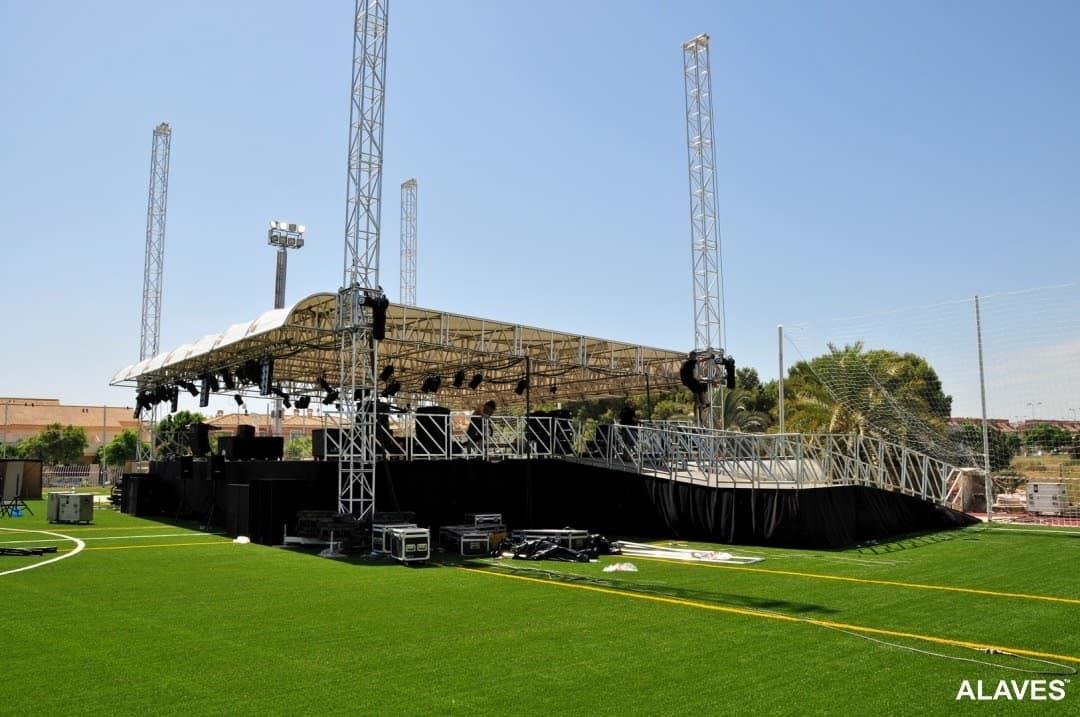 escenarios para conciertos