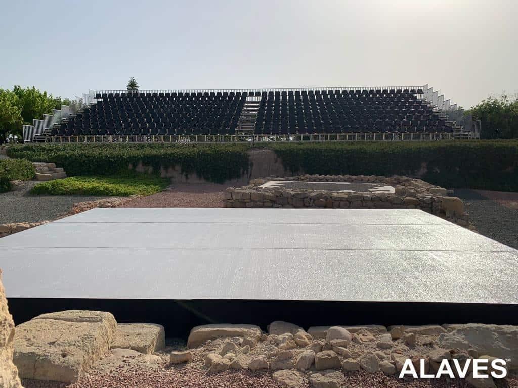 gradas y escenario prokt system-ALAVES